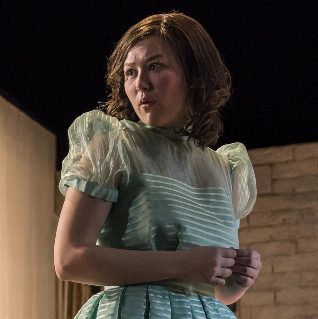 Stand out: Liv Hill plays Angie, the beating heart of Caryl Churchill's classic play PICTURES: JOHAN PERSSON