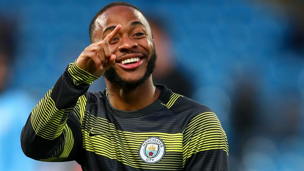 Sterling effort: The Man City star has paid up to £20,000 so pupils from his former school can go to the FA Cup semi-final PICTURE: AMA