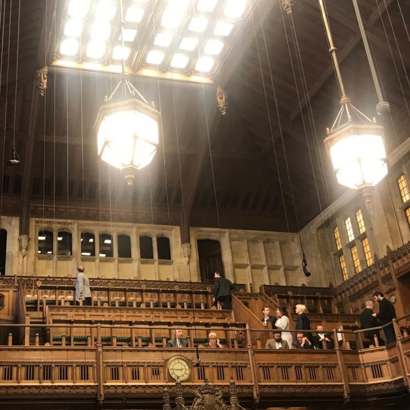 House of Commons suspended after water pours through ceiling