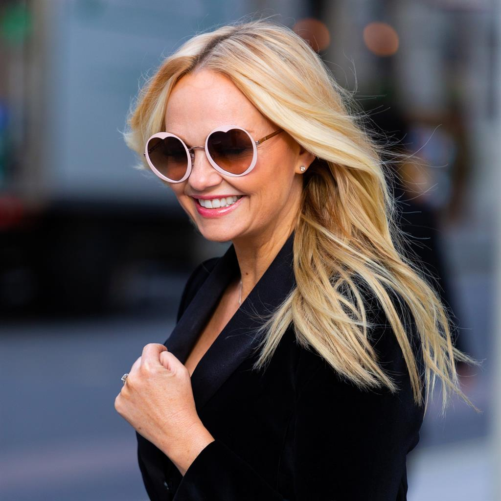 'Left out': Emma Bunton after her appearance on Chris Evans' show PICTURE: SWNS