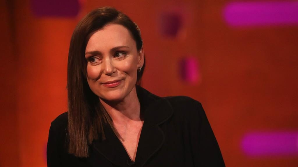 In demmand: Keeley Hawes finds her new-found fame interesting to say the least