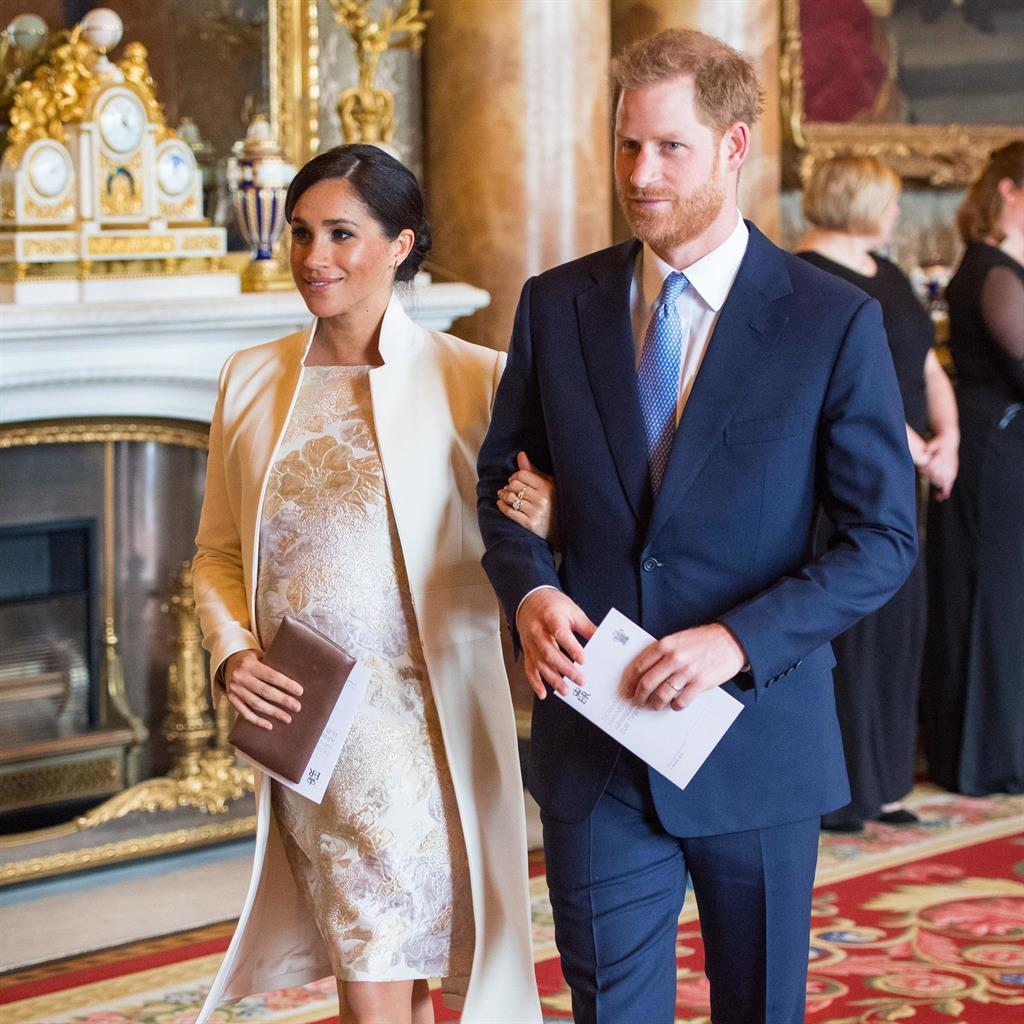 New family: Meghan and Harry may opt for a birth at home (below) PICTURES: GETTY/REX
