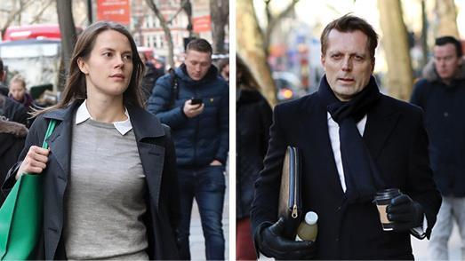 £270k payout: Nathalie Abildgaard accused Frederic Michel-Verdier PICTURES: REX/ PIXEL8000