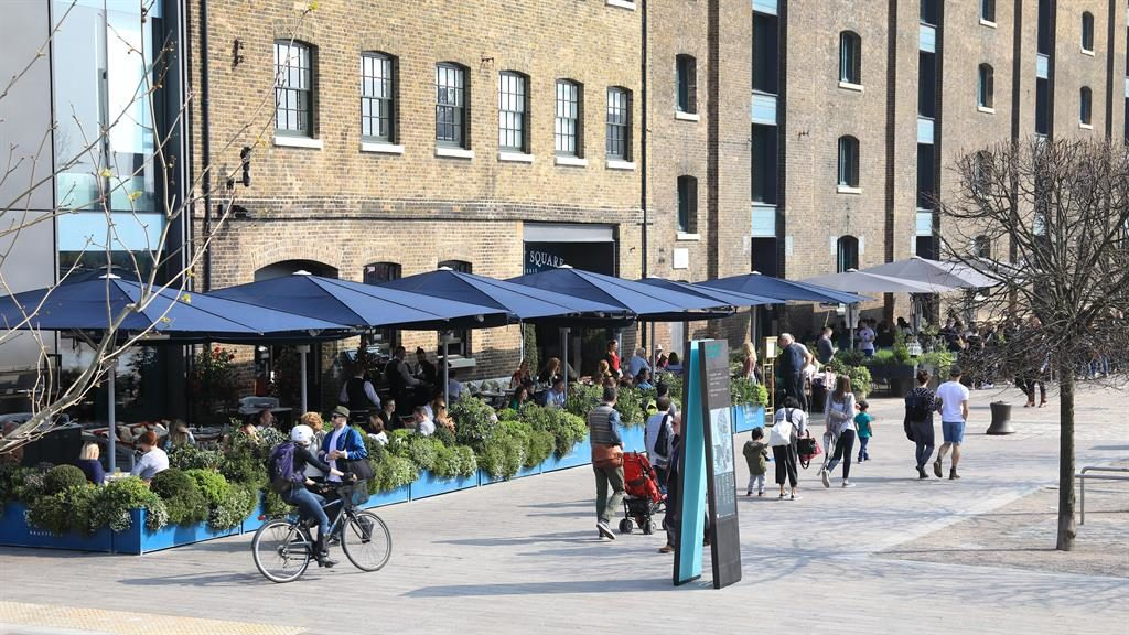 Focal point: Granary Square