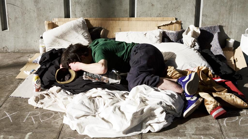 On the street: There has been a 165 per cent rise in rough sleeping since 2010 PICTURE: ALAMY