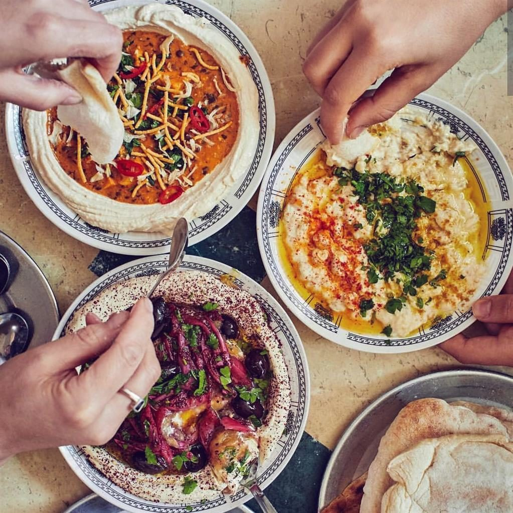 Dip in: Hip cafés in Florentin and Neve Tzedek offer delicious side dishes