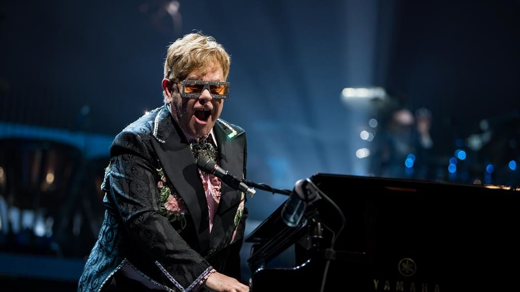 Elton's in the haus: Five-star farewell from pop's least retiring star PICTURES: BEN GIBSON/ ROCKET MUSIC