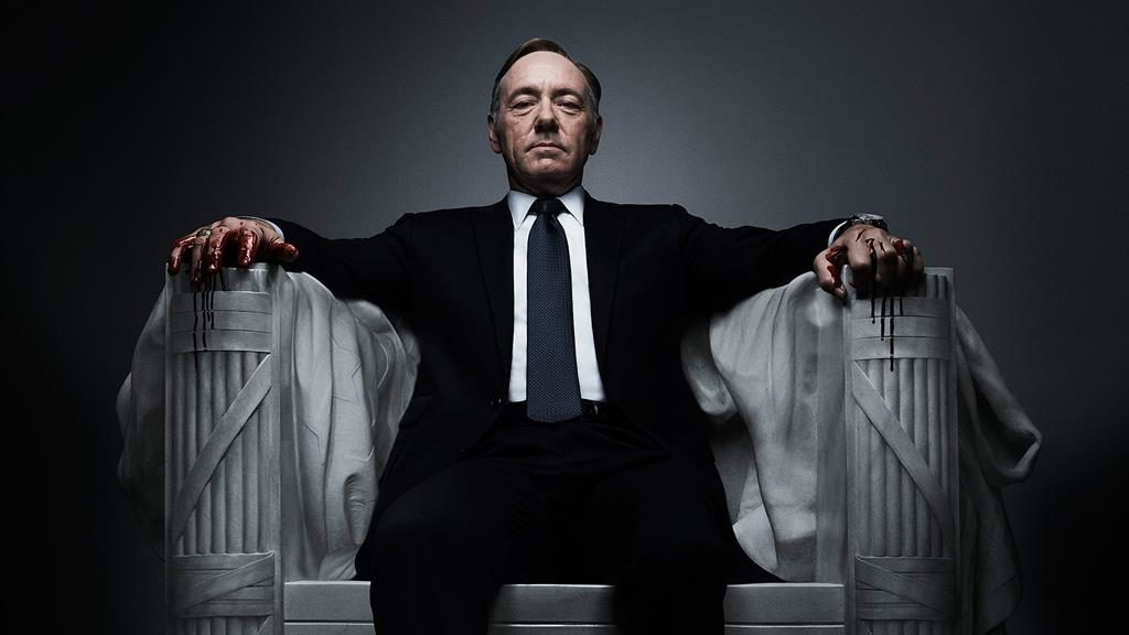 Role model? Kevin Spacey as ruthless Frank Underwood in House of Cards