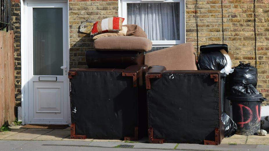Anti-social: Fly-tipping PICTURE: SHUTTERSTOCK