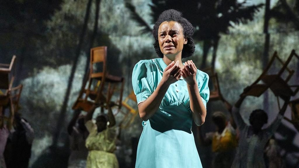Hopes dented: Leah Harvey as Hortense who dreams of a better life PICTURE: BRINKHOFF-MOEGENBURG