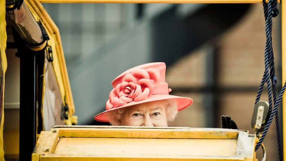Royal welcome: 'Is he here yet?' PICTURE: SHUTTERSTOCK