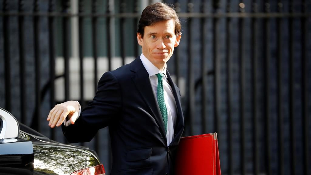 In the running: Rory Stewart intends to stand for party leadership PICTURE: AFP