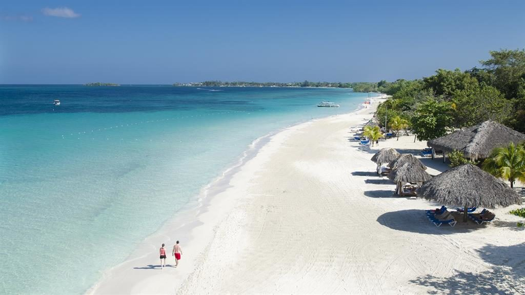 Luxurious: The Beaches Resort in Jamaica is ideal for new parents