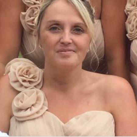 Broken neck: Bonnie Lackey returned to Magaluf for her cousin's wedding but was in a wheelchair PICTURE: JUSTGIVING