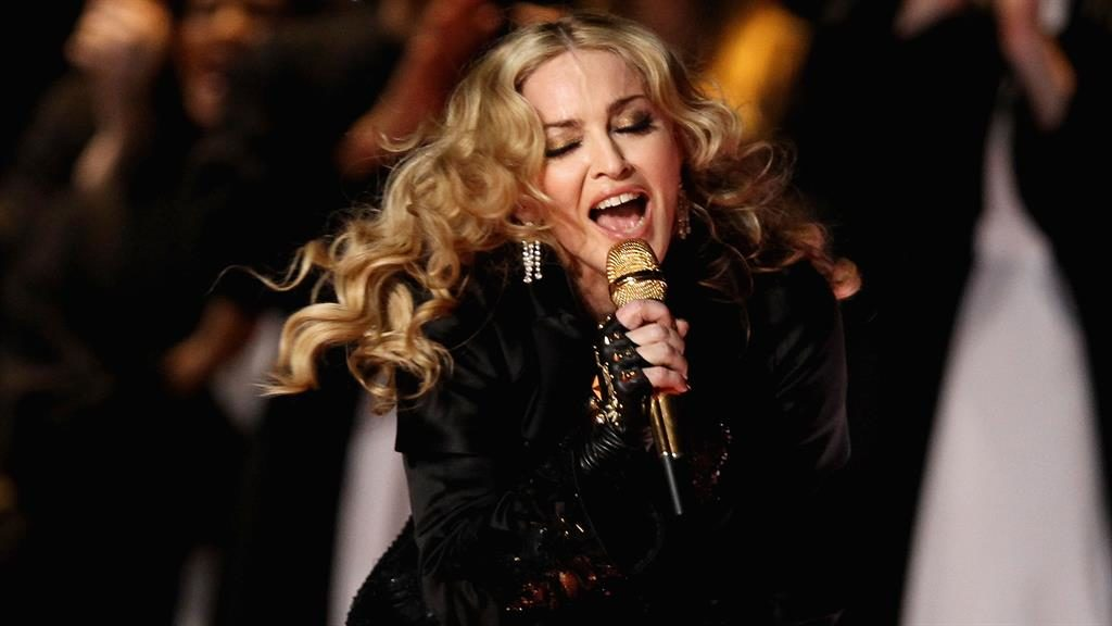 Dates announced: Madonna will be performing six London shows early next year PICTURE: GETTY