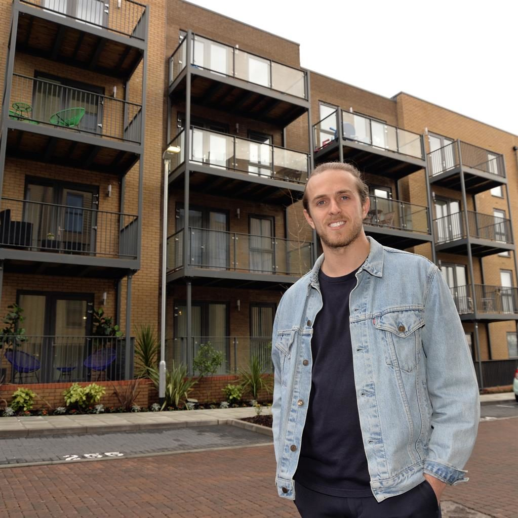 Double whammy: Chris cut his commute by moving to Anerley's Venue