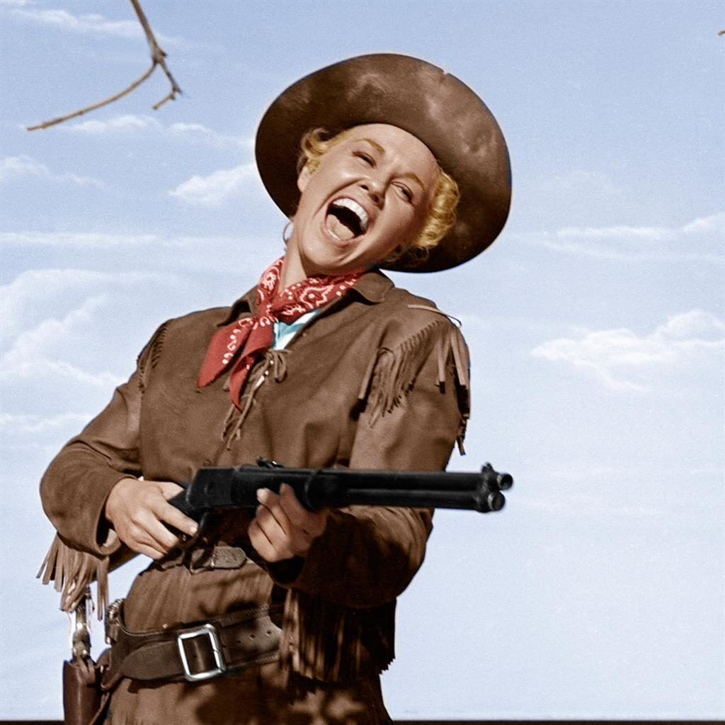 Calamity fame: Doris Day in the 1953 hit Calamity Jane PICTURE: REX