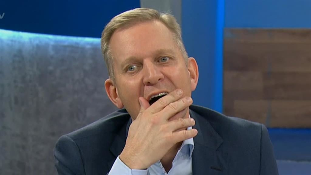 Over: The Jeremy Kyle Show has been axed PICTURE: ITV