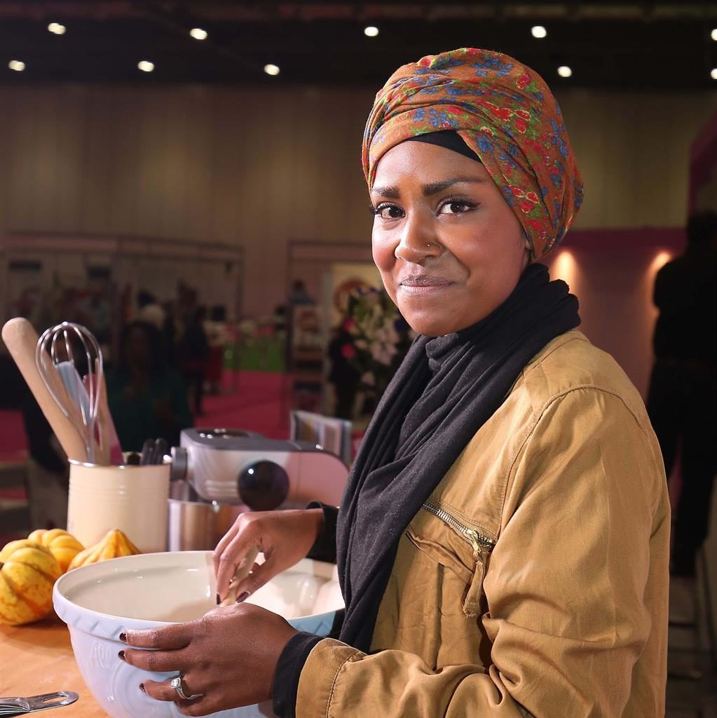 Honesty: Bake Off winner Nadiya Hussain has spoken about panic attacks she suffered during the filming of the show PICTURE: PA WIRE