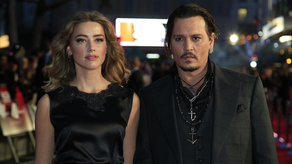 Hollywood couple: Heard with Depp during their two-year marriage PICTURE: PA