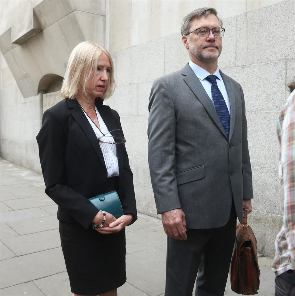 'Cash to Syria': Sally Lane and John Letts, parents of Daesh suspect Jack Letts (below), arrive at Old Bailey PICS: PA
