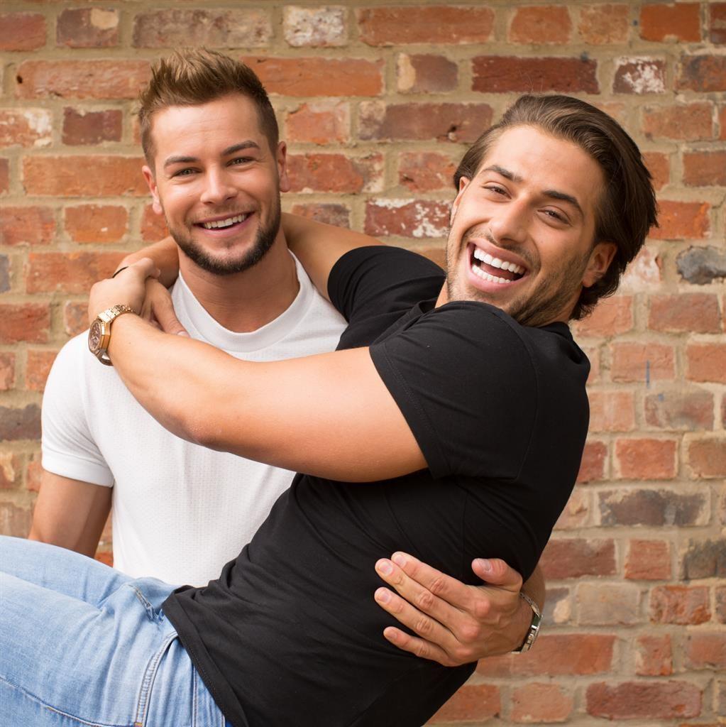 Bromance: Mates Chris and Kem