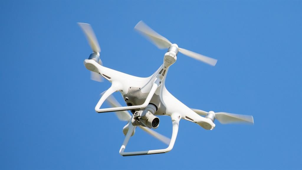 'Danger': A report said a drone's flight meant plane safety was not assured PICTURE: ALAMY