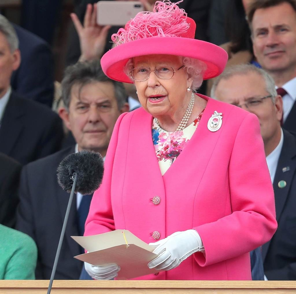My generation: Queen praised the 'resilience' of veterans PICTURES: GETTY/RAF/AP/PA