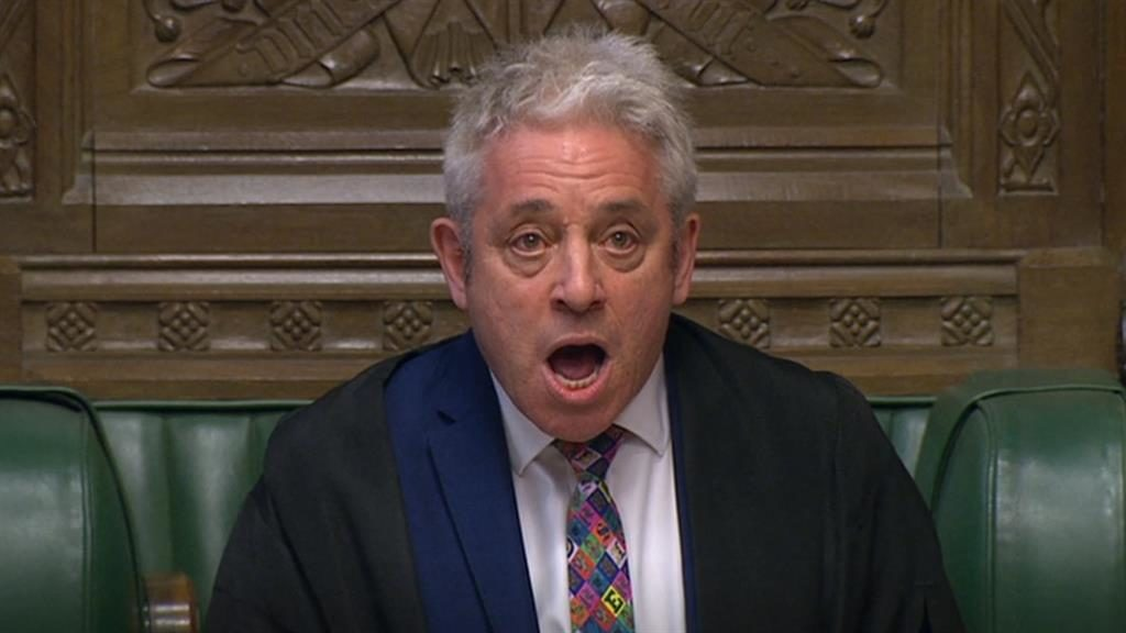 Out of order: Speaker John Bercow PICTURES: PA/GETTY