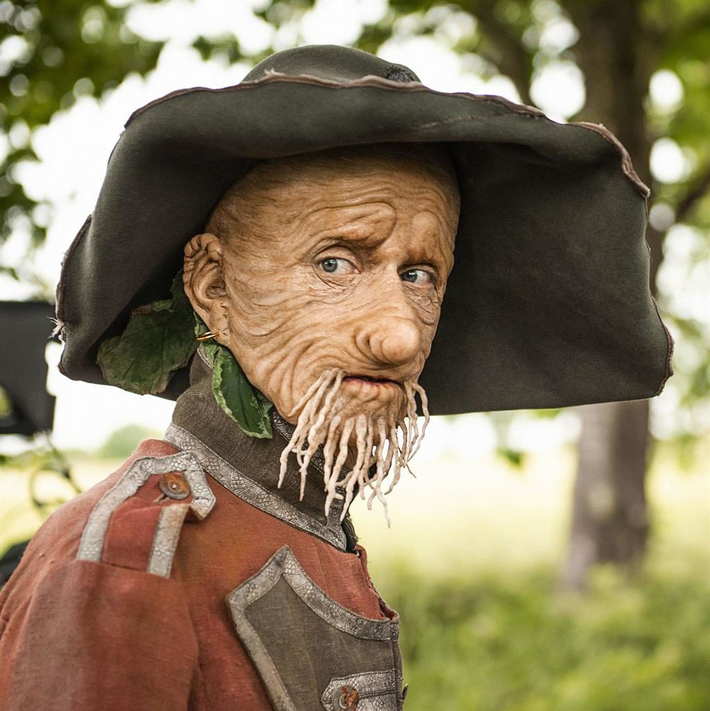 Outstanding in his field: Mackenzie Crook writes, directs and stars in the new BBC adaptation of Worzel Gummidge PICTURE: PA