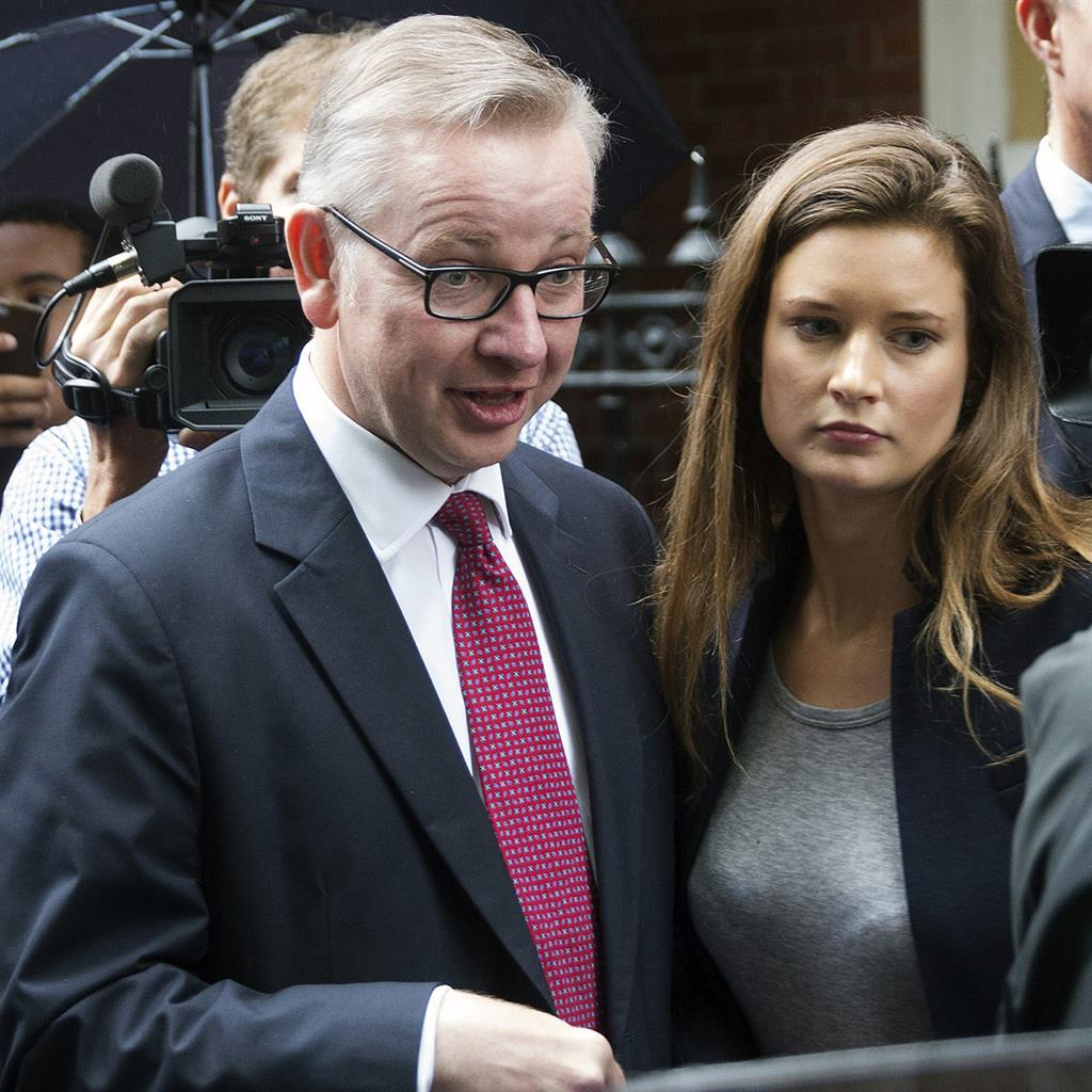 'Dark arts': Ms Armstrong and Mr Gove PICTURE: GETTY