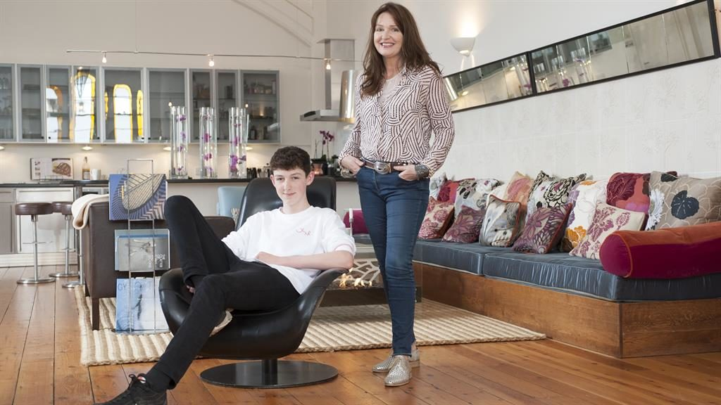 From schoolhouse to home: Kathryn and son Finn