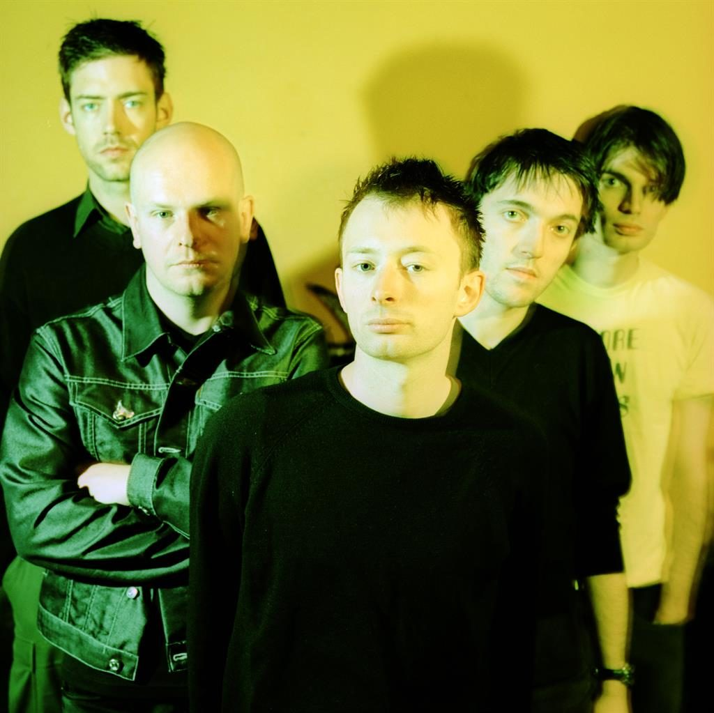 Making waves: Radiohead, pictured in 1997, hit back by releasing music PICTURE: REX