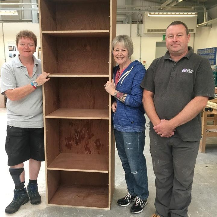 Spendthrift builds her own coffin — which she'll use for bookshelves