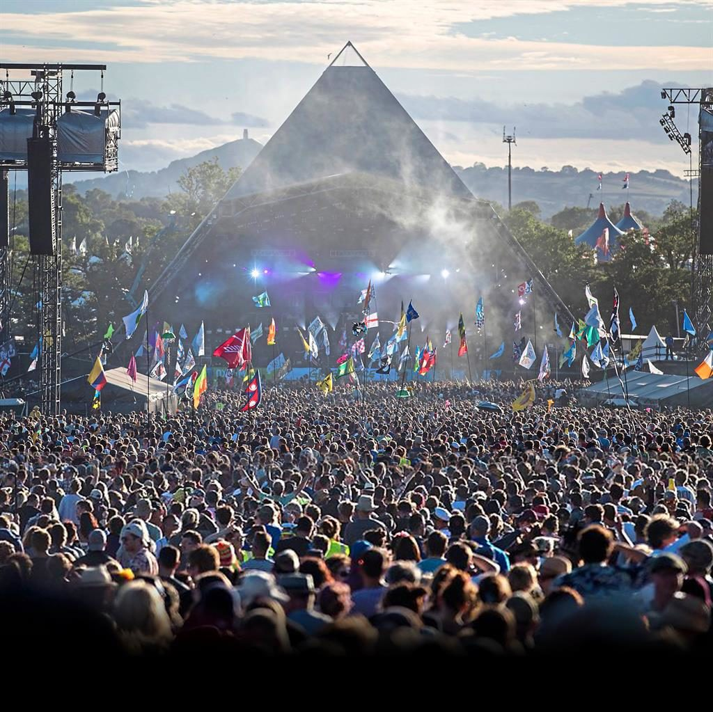 The greatest show on earth: With more than 200,000 people attending, the countdown's on...
