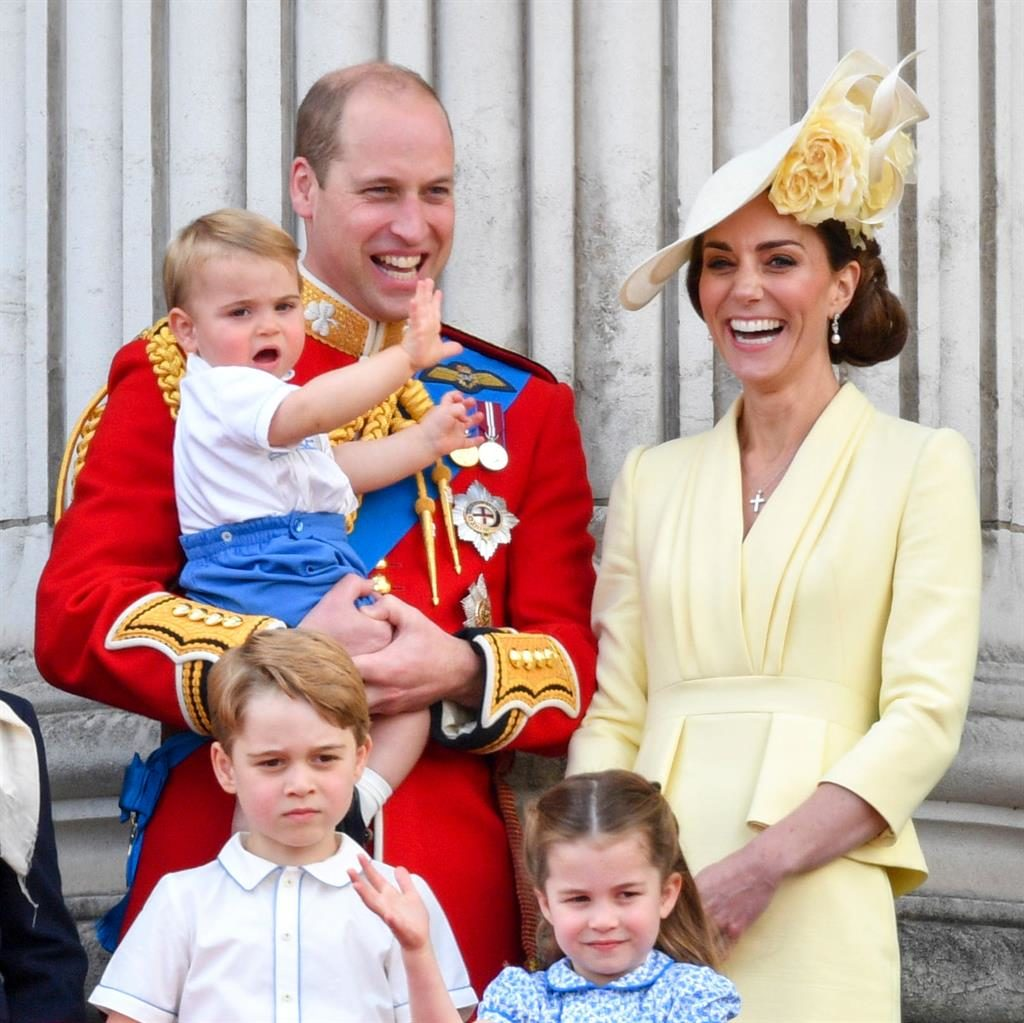 Open arms: William said he and Kate would support George, Charlotte and Louis whatever their sexual orientation PICTURE: REX