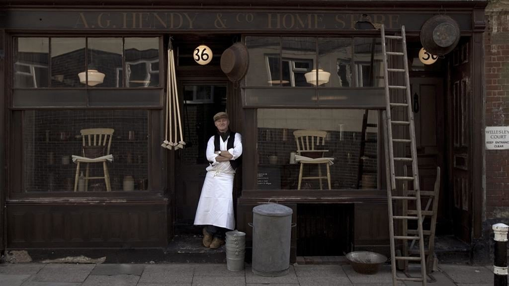 'Make do and mend': Alastair Hendy established his Hastings store in 2011