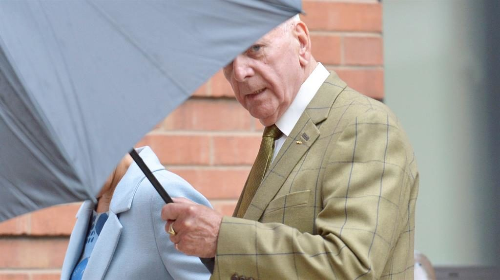 Jailed for three years: Albert Grannon, 78, fatally wounded his great-grandson