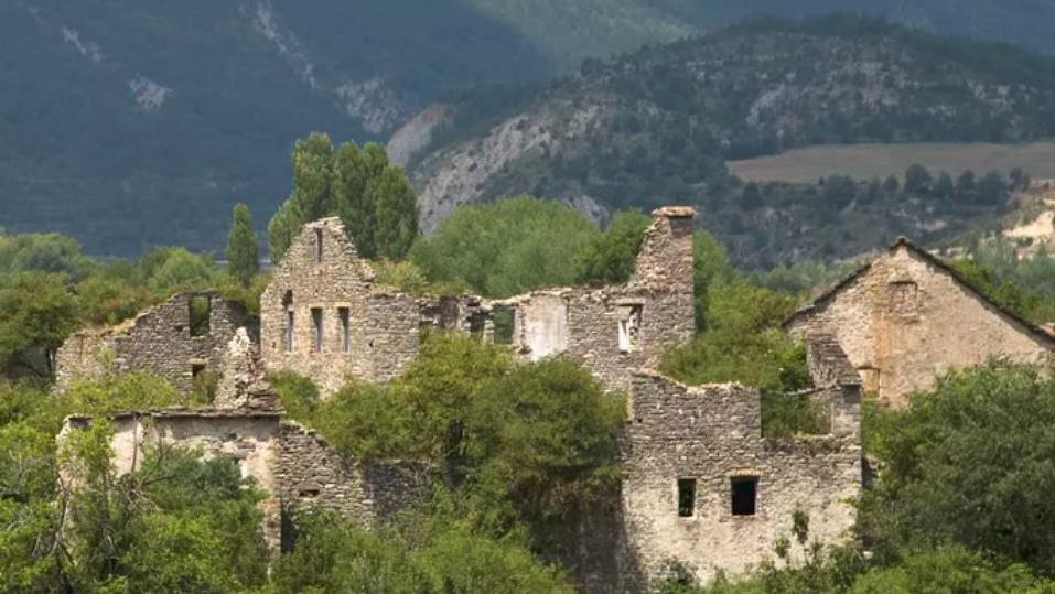 'Passive rewilding': An abandoned village in the Huesca Pyrenees PICTURE: JOSEPH SOHM/SHUTTERSTOCK