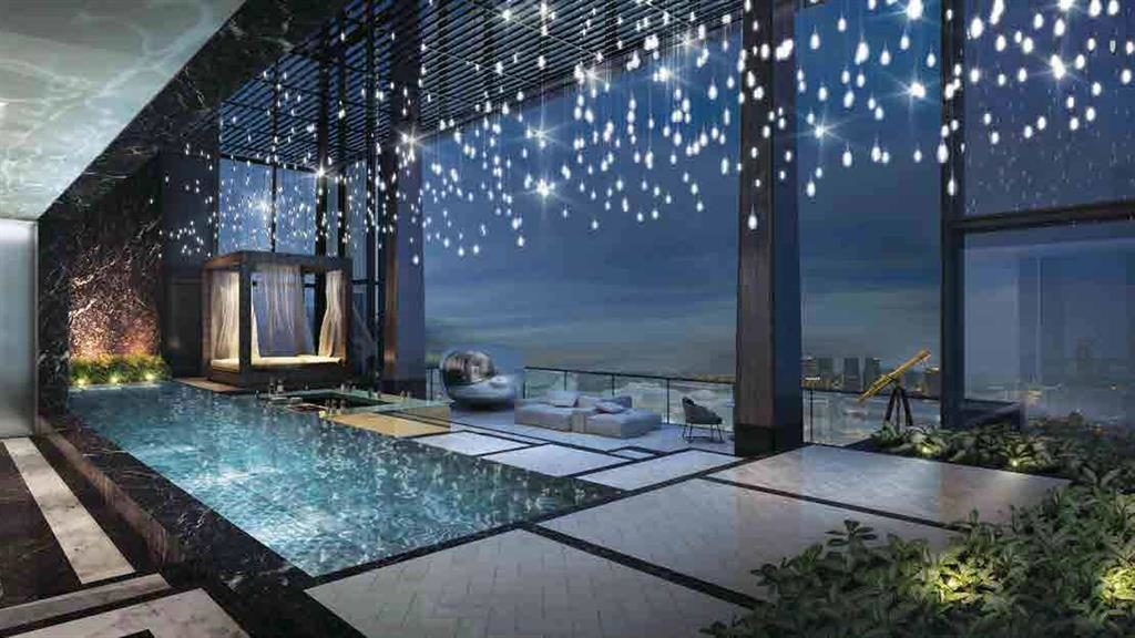 Splashing the cash: Singapore's most expensive apartment has a pool and jacuzzi