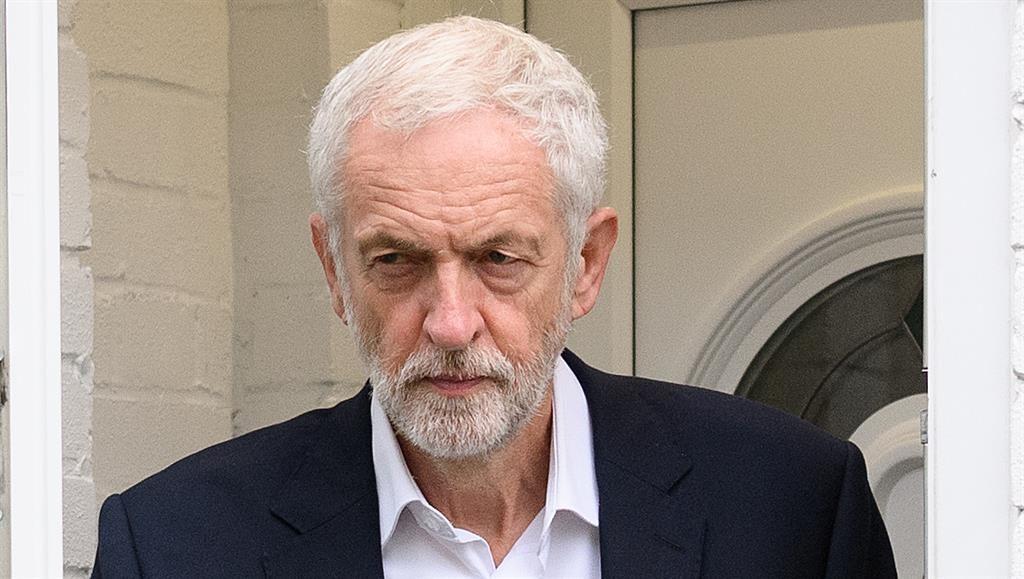 Under fire: Jeremy Corbyn PICTURE: GETTY