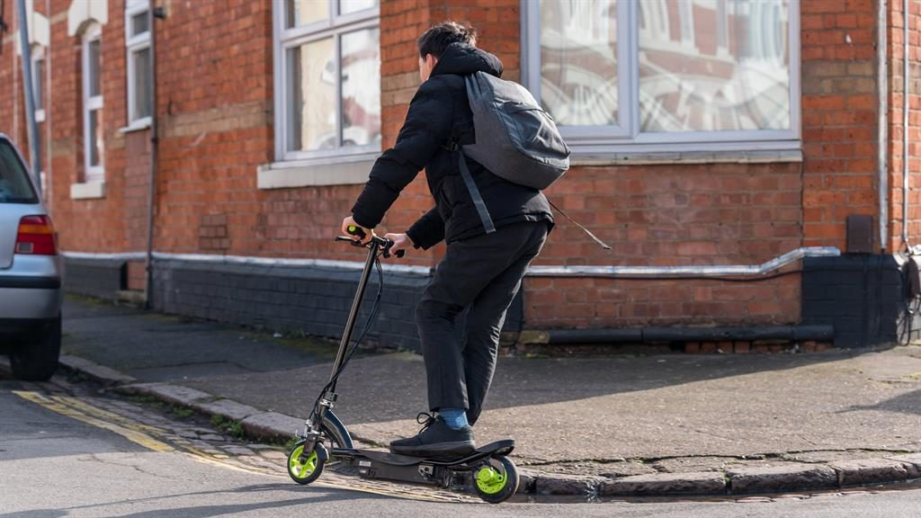 A YouTuber was killed in the UK's first fatal electric scooter crash