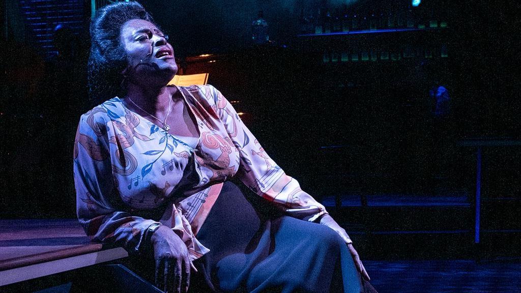 Mood indigo: Sharon D Clarke steals the show as The Lady PICTURE: MATT HUMPHREY