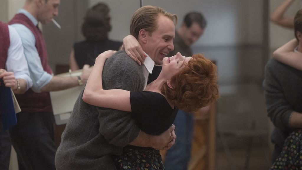 Cha-cha-charming: Sam Rockwell and Michelle Williams play Bob Fosse and Gwen Verdon