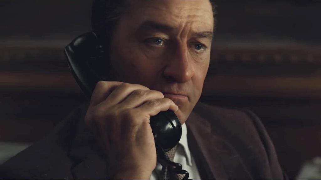 You speaking to me? Robert De Niro stars in The Irishman