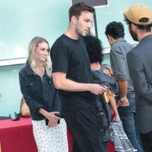 Nicholas Hoult and girlfriend Bryana Holly spotted in rare ...
