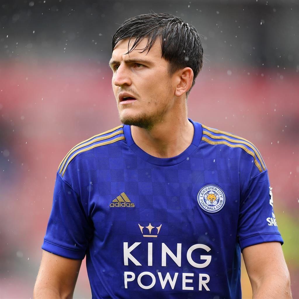 On his way: Maguire's United move would be a world record for a defender