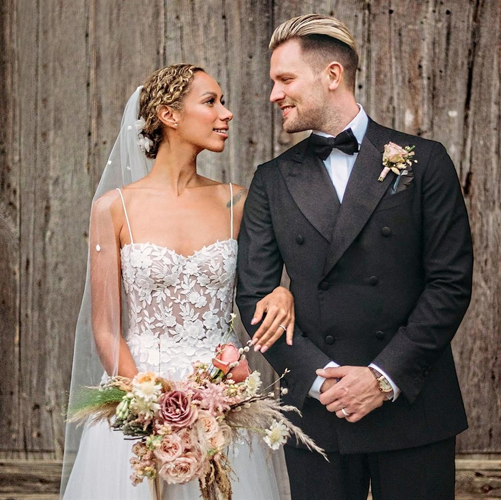 Leona Lewis Shares First Look At Her Wedding Day