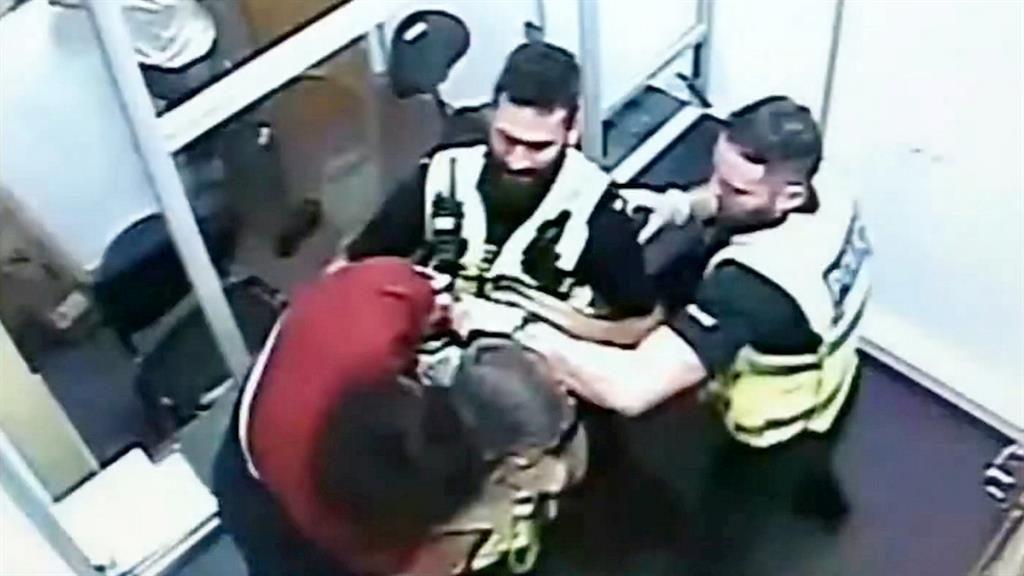 'Truly shocking': Kostromin's assault was captured on CCTV