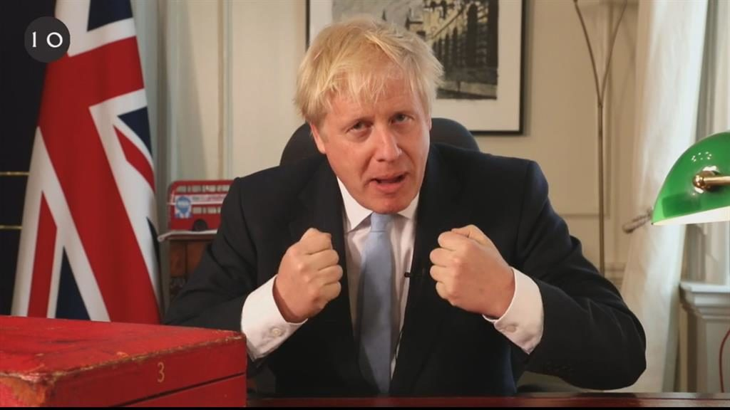Tub-thumping: Boris Johnson is passionate in support of science and Brexit  PICTURE: FACEBOOK